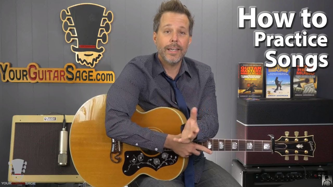 How To Practice Songs on Guitar – Free Registration Starting Now