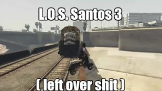 GTA 5 Left Over Stunts | L.O.S. Santos 3