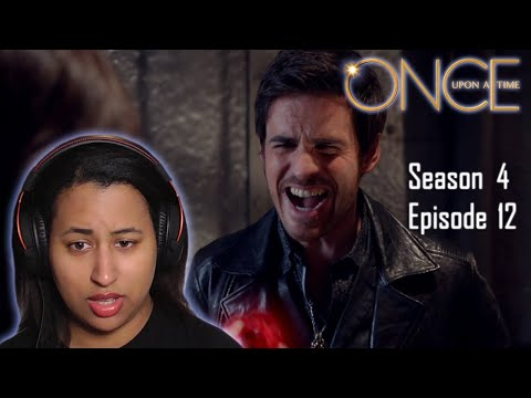 """Once Upon A Time  4x12  """"Heroes and Villains"""" REACTION"""