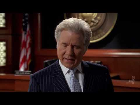 Carl Sack and Denny Crane in Court - Boston Legal