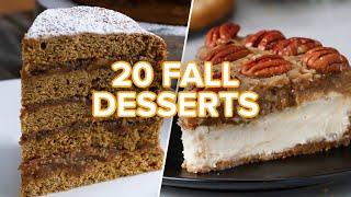 Video 20 Tasty Fall Desserts MP3, 3GP, MP4, WEBM, AVI, FLV November 2018