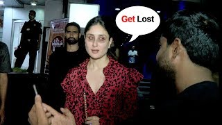 Video DRUNK Kareena Kapoor Shows Unbelievable ATTITUDE To A FAN Asking For A Simple Selfie MP3, 3GP, MP4, WEBM, AVI, FLV September 2018