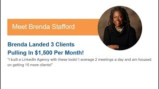 How Brenda Landed 3 Clients Pulling In $1,500 Per Month!