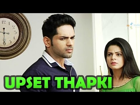 What Thapki says to Dhruv?