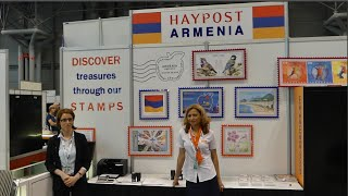 HayPost participate in World Stamp Show 2016 in NYC, Javits Center