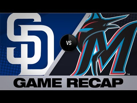 Video: Anderson, Castro power Marlins' 12-7 win | Padres-Marlins Game Highlights 7/16/19