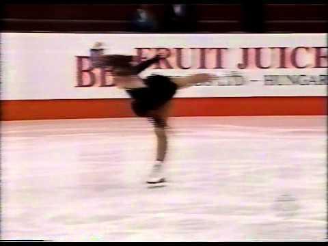 Tara Lipinski (USA) - 1995 World Juniors, Ladies' Short Program