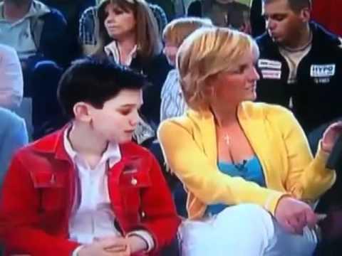 Kid gets caught looking