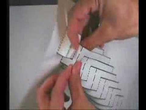 Cómo hacer edificios de papel