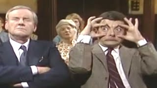 MrBean - Mr Bean - Falling Asleep in Church