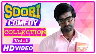 Video Soori Comedy Scenes | Latest Tamil Movies | Parotta Soori | Comedy Jukebox | Vol 1 MP3, 3GP, MP4, WEBM, AVI, FLV September 2018