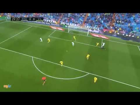 Real Madrid vs Villaeral 2 1