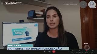 Sorocaba terá barreiras sanitárias a partir de quinta-feira