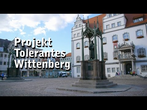 Kooperation mit den Wittenberger Wirtschaftsjunioren - Tolerantes Wittenberg