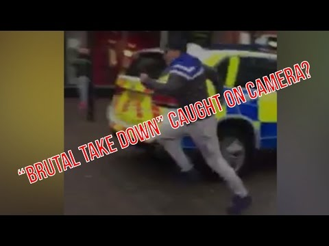 """Brutal Take Down"" Caught On Camera?"