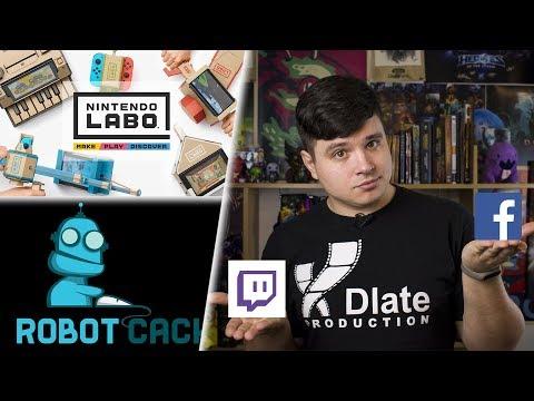 [xDigest новостей] Криптовалютный аналог Steam, что за картонный Nintendo Labo, тизер реворка Свейна