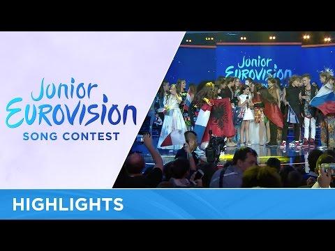 Junior Eurovision Song Contest 2016 - Highlights (видео)