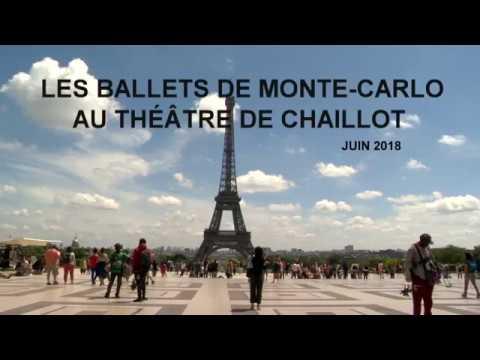 Les Ballets de Monte-Carlo en tournée à Chaillot