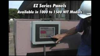 Highbright outdoor readable HMI panels