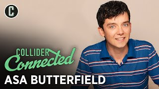 Asa Butterfield on Sex Education and Martin Scorsese's Hugo - Collider Connected by Collider