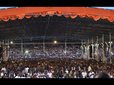 PM Modi at a Public Meeting in Hyderabad, Telangana