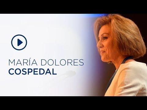 Intervención de Mª Dolores Cospedal en el 19 Congreso Nacional del PP