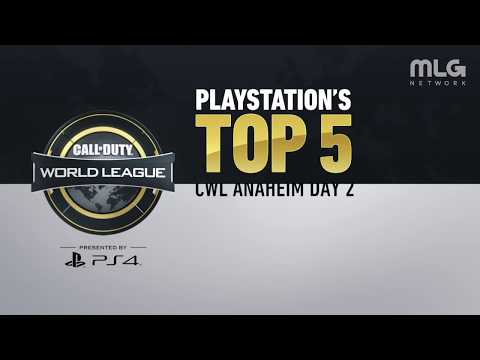 PlayStation Top 5 Plays | CWL Anaheim Day 2