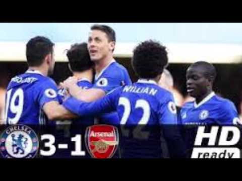Arsenal vs Chelsea 1-3 All Goals & Extended Highlights - Premier League - 04/02/2017 HD