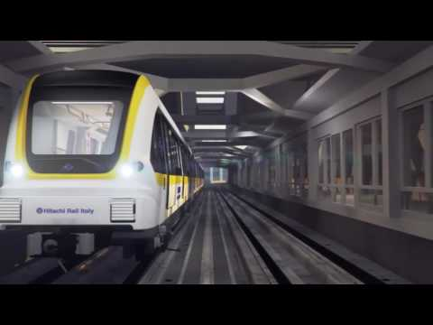 Taipei on board the new Hitachi Rail Italy metro