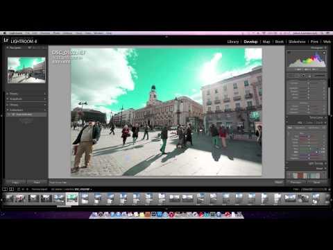 Narzędzia lokalnej zmiany jasności i barw - poradnik wideo
