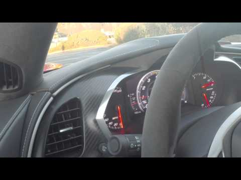 754RWHP 2015 Z06  built by Vengeance Racing-Drivability video