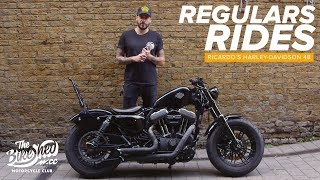 8. Regulars Rides: Ricardo's Harley-Davidson Sportster Forty-Eight