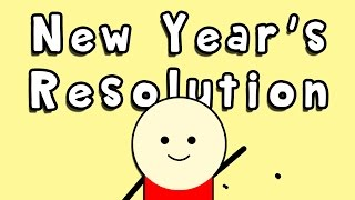 Tips on how to make a good new year's resolution and how to stick to it. This is my final video for 2014 and my very first motion graphic video on this chane...