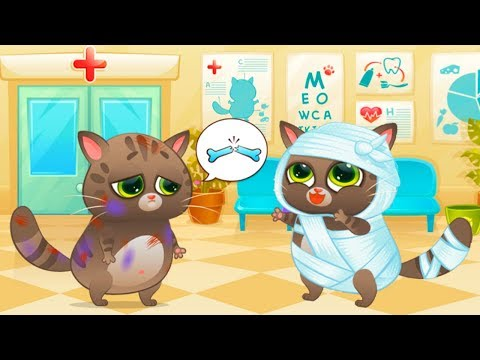 Play Fun Cute Kitten Pet Care - Bubbu - My Virtual Pet Gameplay