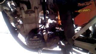 5. 2009 KTM 250sxf start up and walk around