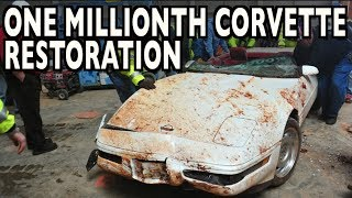 1 Millionth Corvette Restoration (Time Lapse) on Everyman Driver