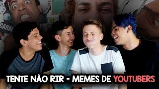 TENTE NÃO RIR - Memes de Youtubers (Ft. Jozão, Isso aí Vlog e Lukas Batista) #QPYS