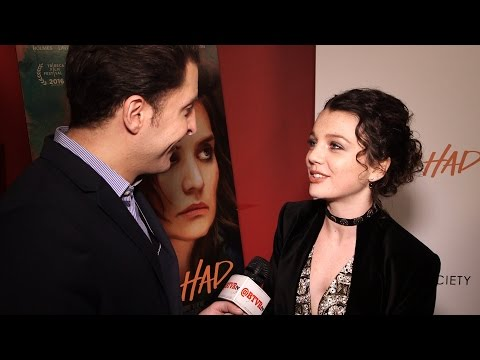 AfterBuzz TV Interviews Stefania Owen @ CW's Carrie Diaries Premiere