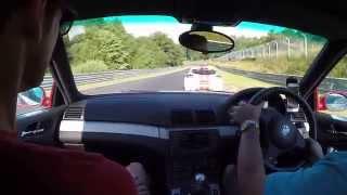 Nurburgring Touristenfahrten BMW e46 M3 02.08.2015