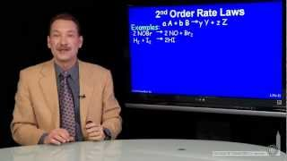 2nd Order Rate Laws