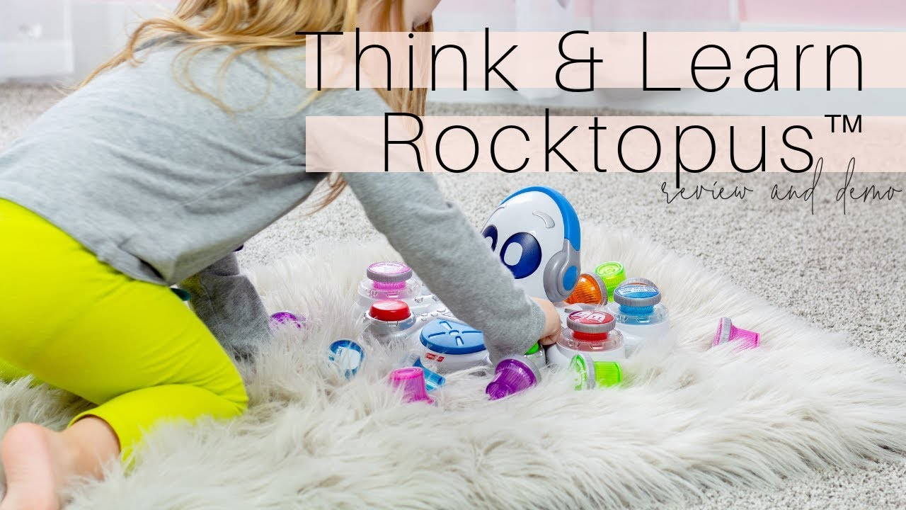 Holiday Gift Ideas for Kids   Fisher Price Think & Learn Rocktopus™