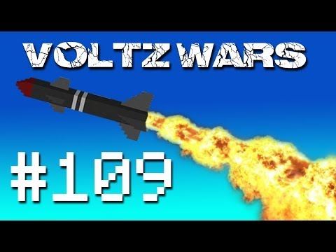 Minecraft Voltz Wars - Bombing a Spy Outpost! #109