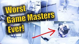 Worst Escape Room Game Masters Ever!