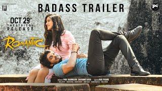 ROMANTIC Badass Trailer   Akash Puri, Ketika Sharma   Puri Jagannadh   Charmme Kaur   Anil Paduri