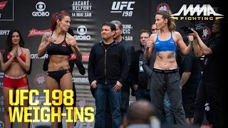 UFC 198 Weigh-In Highlights by MMA Fighting