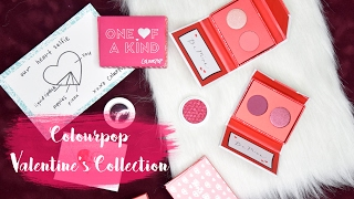 Colourpop's Valentine collection has all the berries and pinks your heart can desire! In this video I swatch three of the pressed...