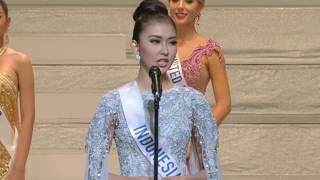 Video WINNING ANSWER & SPEECH of Miss Indonesia as Miss International 2017 (FULL HD) MP3, 3GP, MP4, WEBM, AVI, FLV November 2017