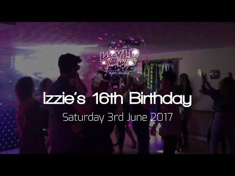 Wyld Parties Gig Log - Izzie's 16th Birthday
