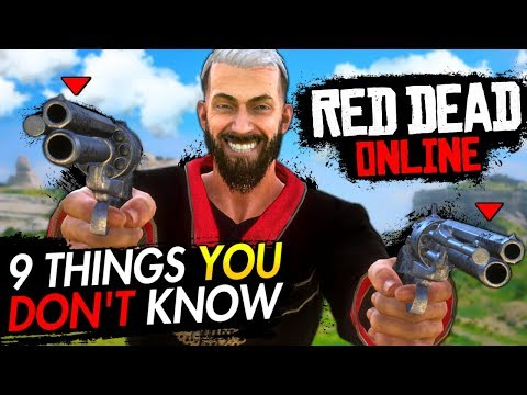 9 Things You STILL Don't Know in Red Dead Online