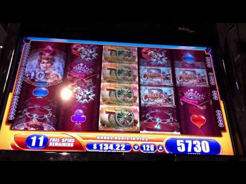 17 Free Spins Bonus Win on Napoleon Slot Machine Casino Game
